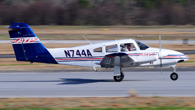 N744A - Piper PA-44-180 Seminole - Airline Transport Professionals