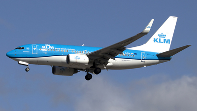 A picture of PHBGM - Boeing 7377K2 - KLM - © Paul Spijkers