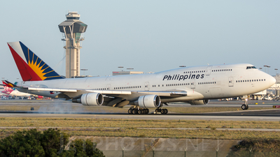 RP-C7471 - Boeing 747-4F6 - Philippine Airlines