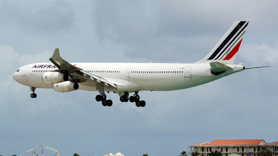 F-GNII - Airbus A340-313X - Air France