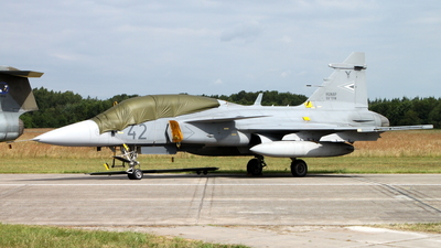 42 - Saab JAS-39D Gripen - Hungary - Air Force