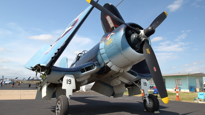 N773RD - Goodyear FG-1D Corsair - Private
