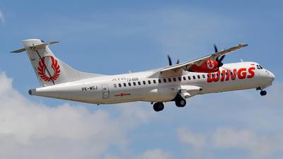 PK-WGJ - ATR 72-212A(600) - Wings Air