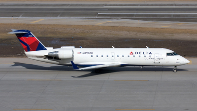 A picture of N8908D - Mitsubishi CRJ200LR - Delta Air Lines - © Yixin Chen