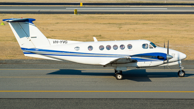 A picture of VHYVG - Beech 200 Super King Air - [BB165] - © Dallas Presser