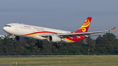 A picture of B8015 - Airbus A330343 - Hainan Airlines - © Rell Boldizsár