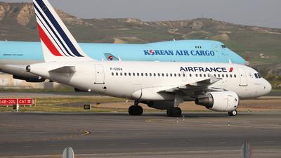 A picture of FGUGA - Airbus A318111 - Air France - © Guille Gª del Alamo