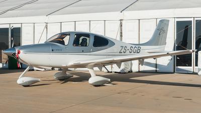 ZS-SGB - Cirrus SR22-GTS-X - Private