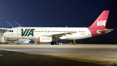 LZ-MDA - Airbus A320-232 - Air Via