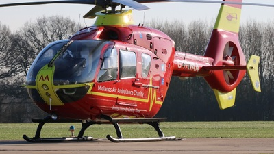 G-HWAA - Eurocopter EC 135T2 - Midlands Air Ambulance