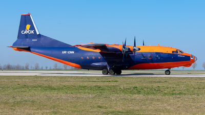 UR-CNN - Antonov An-12BK - Cavok Air