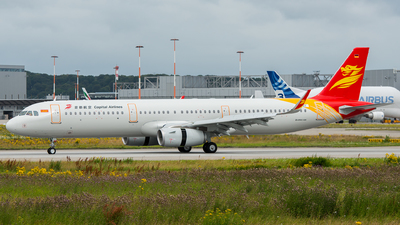 D-AVZY - Airbus A321-231 - Capital Airlines