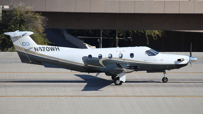 N670WH - Pilatus PC-12/45 - Boutique Air