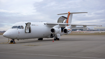 A picture of GJOTE - BAe 146300QT - Jota Aviation - © Patrick Weis