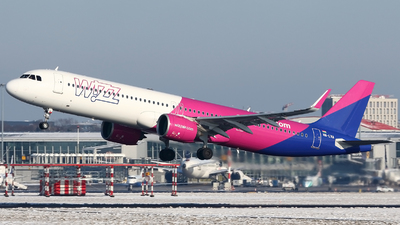 A picture of HALVA - Airbus A321271NX - Wizz Air - © Pawel Cieplak