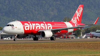 9M-AJN - Airbus A320-216 - AirAsia