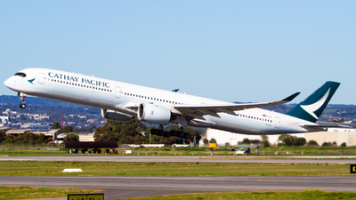 A picture of BLXD - Airbus A3501041 - Cathay Pacific - © Noah Pitkin