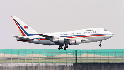 N4522V - Boeing 747SP-09 - China Airlines
