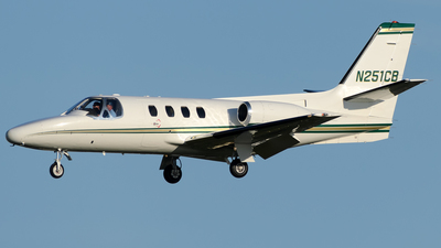 N251CB - Cessna 501 Citation - Private