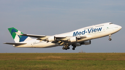 TF-AMV - Boeing 747-412 - Med-View Airlines