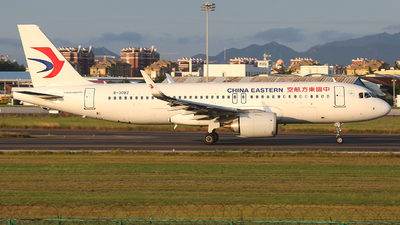A picture of B308Z - Airbus A320251N - China Eastern Airlines - © SEN BAI