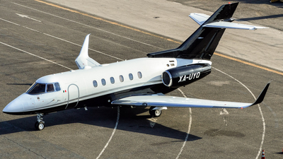 XA-UYQ - Raytheon Hawker 800XP - Private