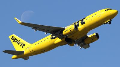 A picture of N620NK - Airbus A320232 - Spirit Airlines - © Xiamen Air 849 Heavy