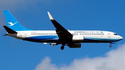 B-5707 - Boeing 737-85C - Xiamen Airlines