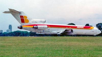 LV-VFJ - Boeing 727-243(Adv) - Aerolíneas Argentinas