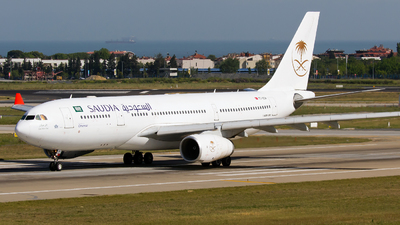 TC-OCH - Airbus A330-243 - Saudi Arabian Airlines (Onur Air)