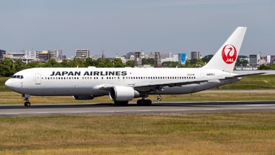 JA622J - Boeing 767-346(ER) - Japan Airlines (JAL)