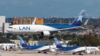 N418LA - Boeing 767-316F(ER) - LAN Cargo