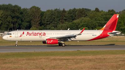 N805AV - Airbus A321-231 - Avianca