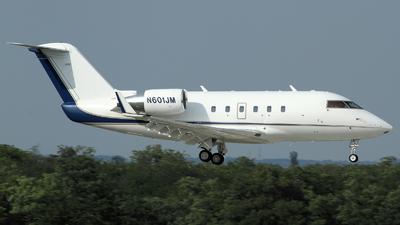 N601JM - Bombardier CL-600-2B16 Challenger 601 - Private