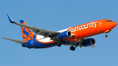 N830SY - Boeing 737-83N - Sun Country Airlines