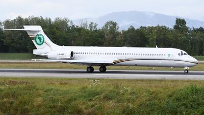 P4-AUA - McDonnell Douglas MD-87 - Africa Union Aviation