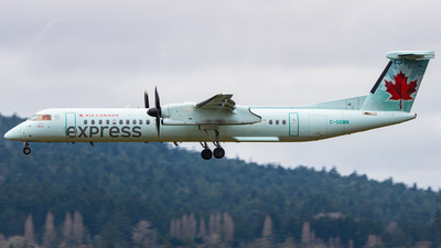 C-GGMN - Bombardier Dash 8-Q402 - Air Canada Express (Jazz Aviation)