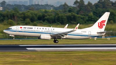 B-6499 - Boeing 737-89L - Air China