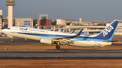 JA62AN - Boeing 737-881 - All Nippon Airways (ANA)