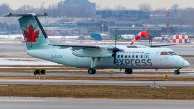 A picture of CGVON - De Havilland Canada Dash 8300 - [149] - © Christopher M. Owens