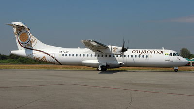 XY-AJY - ATR 72-212A(600) - Myanmar National Airlines