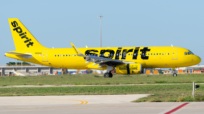 N651NK - Airbus A320-232 - Spirit Airlines