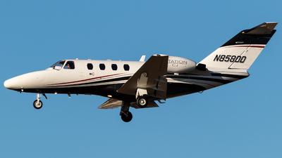 N858DD - Cessna 525 Citation CJ1 - Private