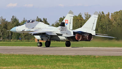 3911 - Mikoyan-Gurevich MiG-29AS Fulcrum - Slovakia - Air Force