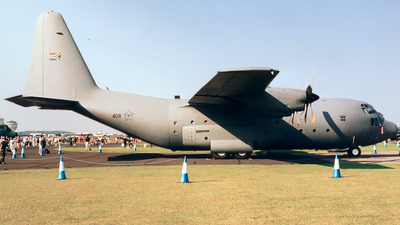 408 - Lockheed C-130B Hercules - South Africa - Air Force