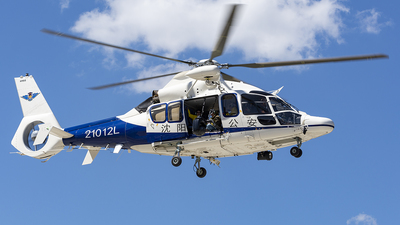21012L - Airbus Helicopters H155 B1 Dauphin - Shenyang - Police