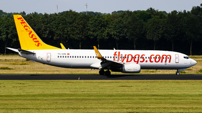 A picture of TCCRE - Boeing 73782R - Pegasus Airlines - © C. v. Grinsven
