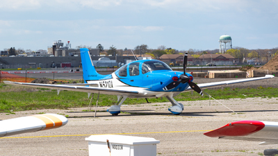 N521ZA - Cirrus SR22T-GTS G6 Carbon - Private