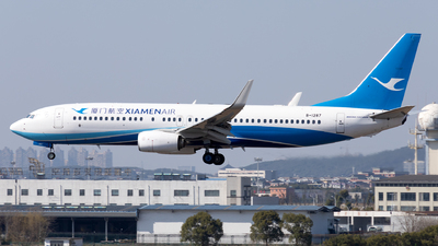 A picture of B1287 - Boeing 73785C - Xiamen Air - © XPHNGB