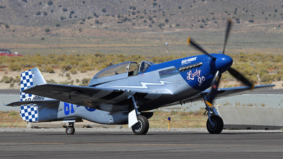 NL327DB - North American P-51D Mustang - Private
